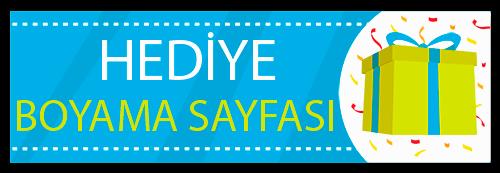 Hediye Boyama Sayfasi